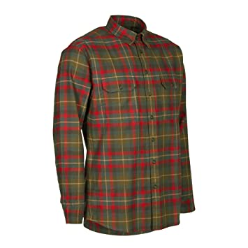 grande vente 29ed7 4ebf9 Deerhunter Chemise de chasse à manches longues Marlon Red ...