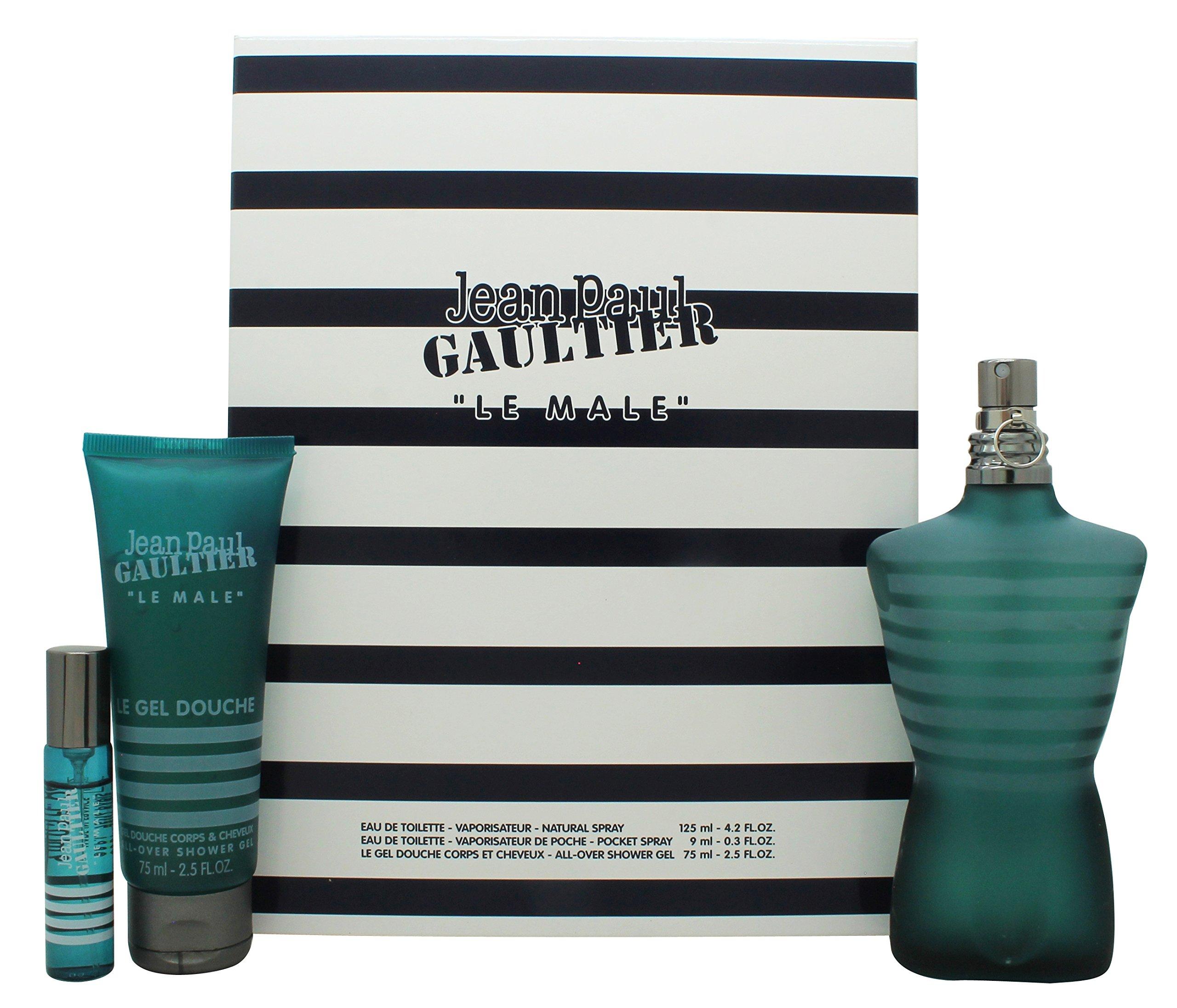 Jean Paul Gaultier Le Male Fragrance Set, 3 Count