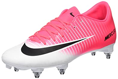 Nike Mercurial Victory VI, Chaussures de Football Entrainement Homme, Rose (Racer Pink/Black-White-White), 42.5 EU