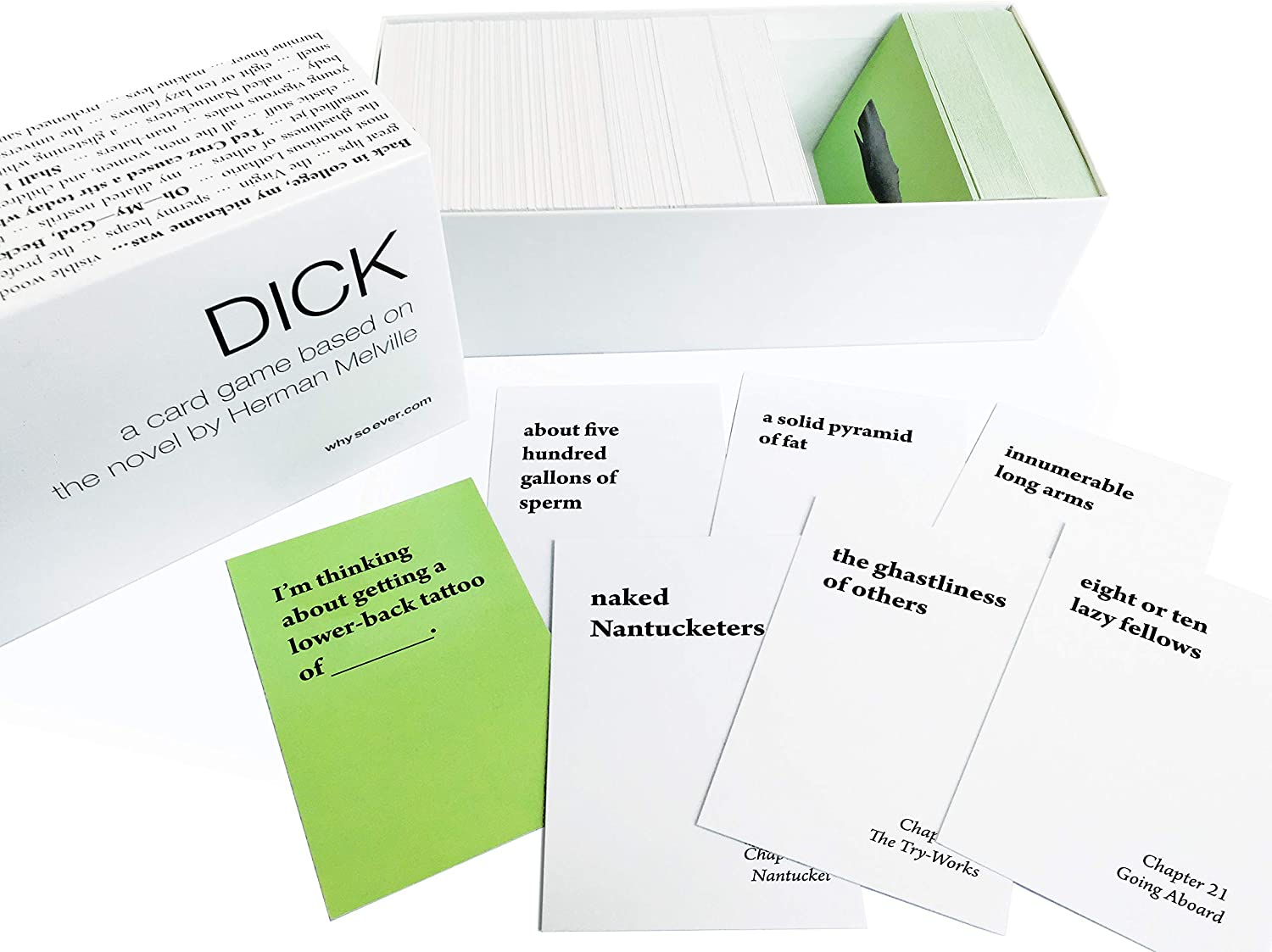 Why So Ever Dick: A Card Game Based on The Novel by Herman Melville
