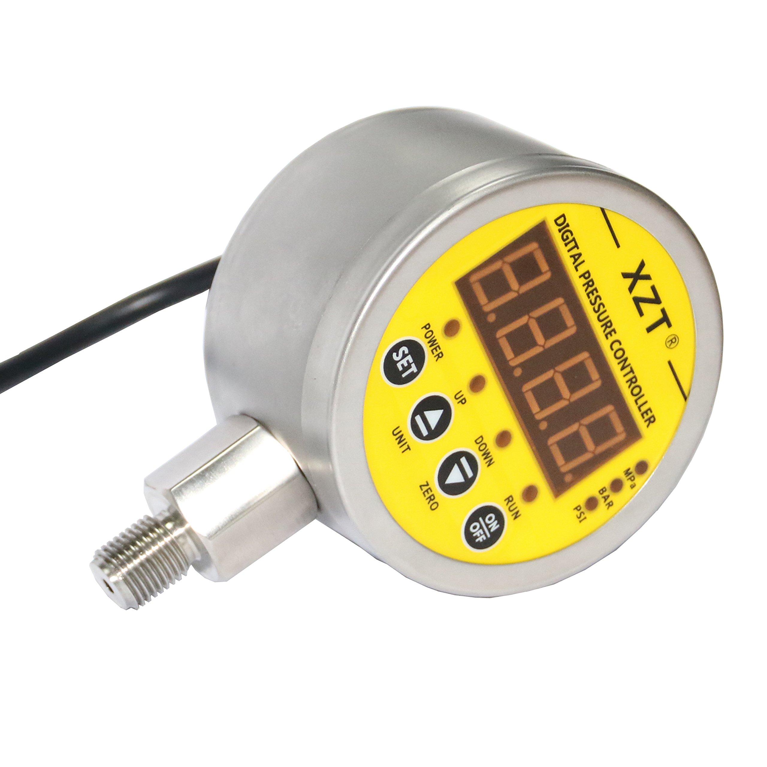 XZT 230PSI-NPT Digital Pressure Switch controller for Water Pump Air Compressor 110VAC-B