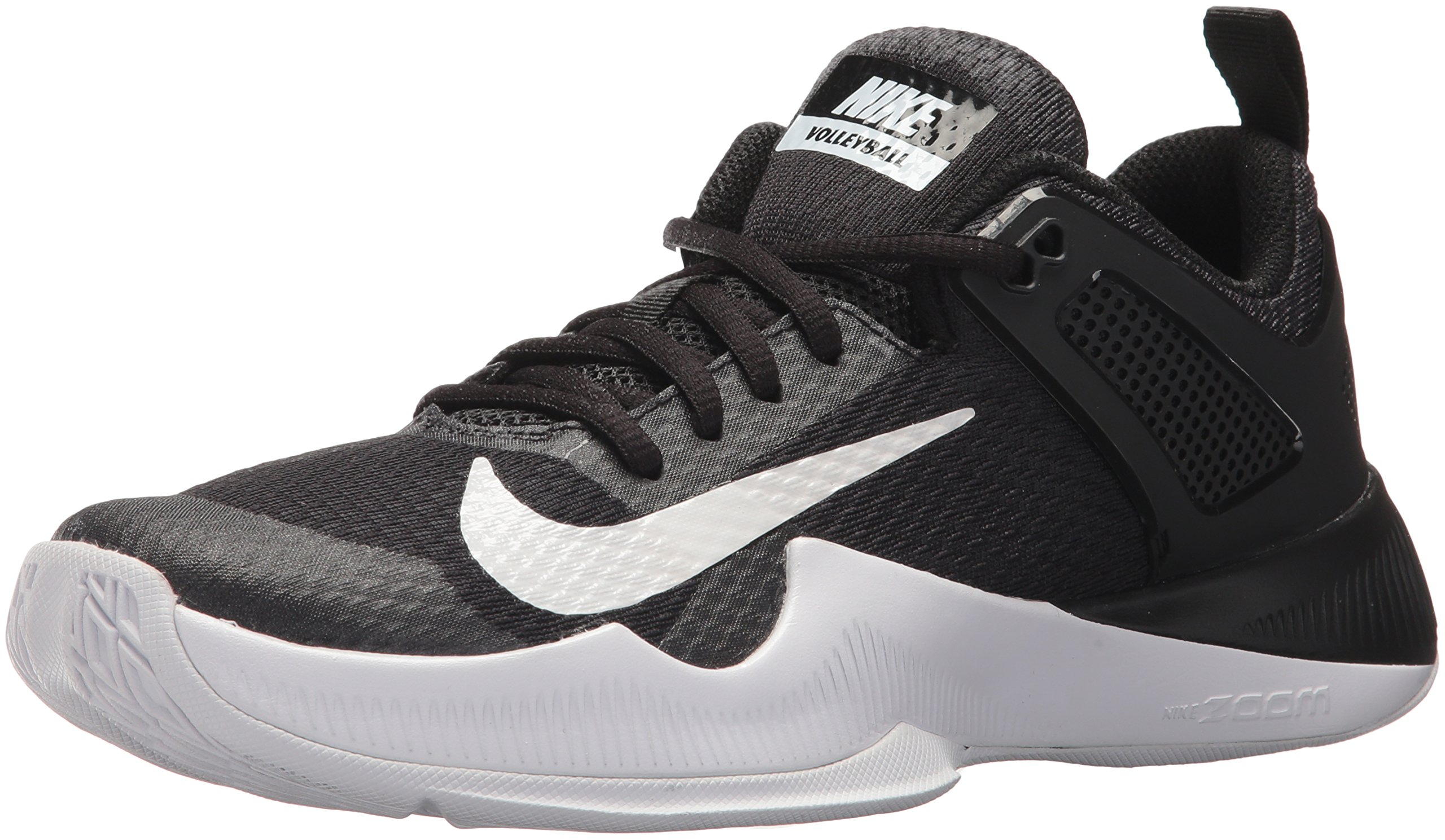6ddb7d058562 Galleon - Nike Women s Air Zoom Hyperace Volleyball Shoes Black White Size  7 M US