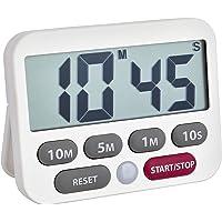 TFA Dostmann Digital timer och stoppur, 38.2038.02, tid upp till 99 min 50 sek, extra högt larm, enkel och snabb…