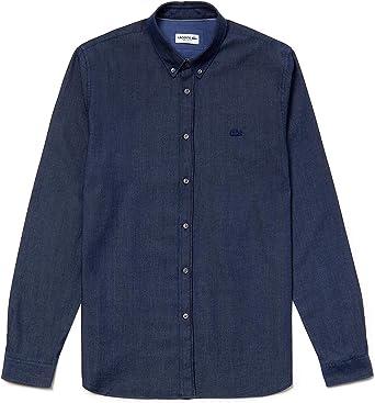 Lacoste - Camisa Punto Manga Larga Hombre - Ch0567: Amazon.es: Ropa y accesorios
