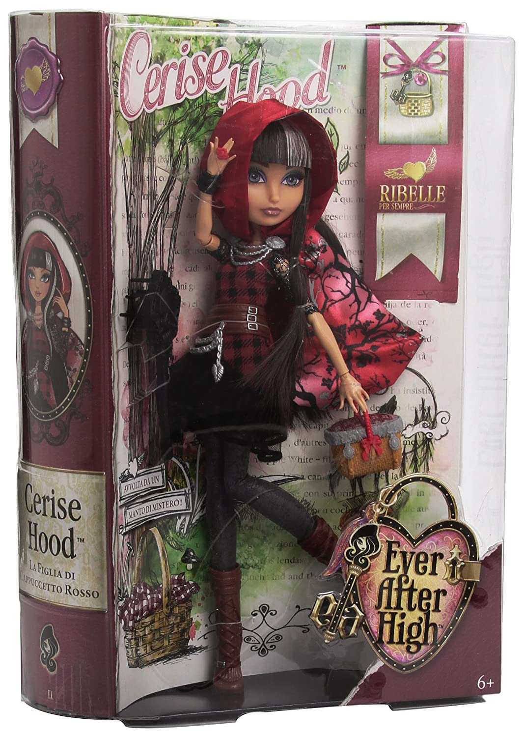 Ever After High Mattel BFW90 / BJG61 –&nbsp Rebellen