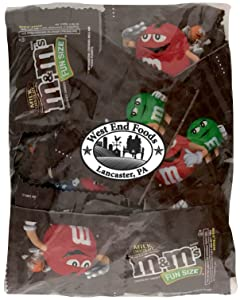 M&Ms Fun Size Milk Chocolate Bulk (1 Pound Bag)