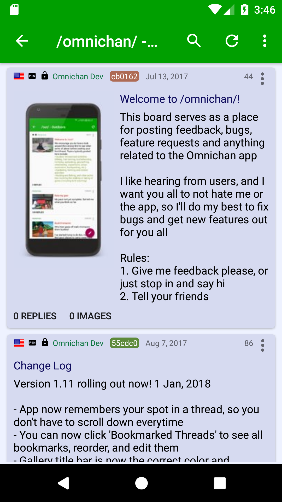 Amazon com: Omnichan Pro: 4chan and 8chan Client: Appstore for Android