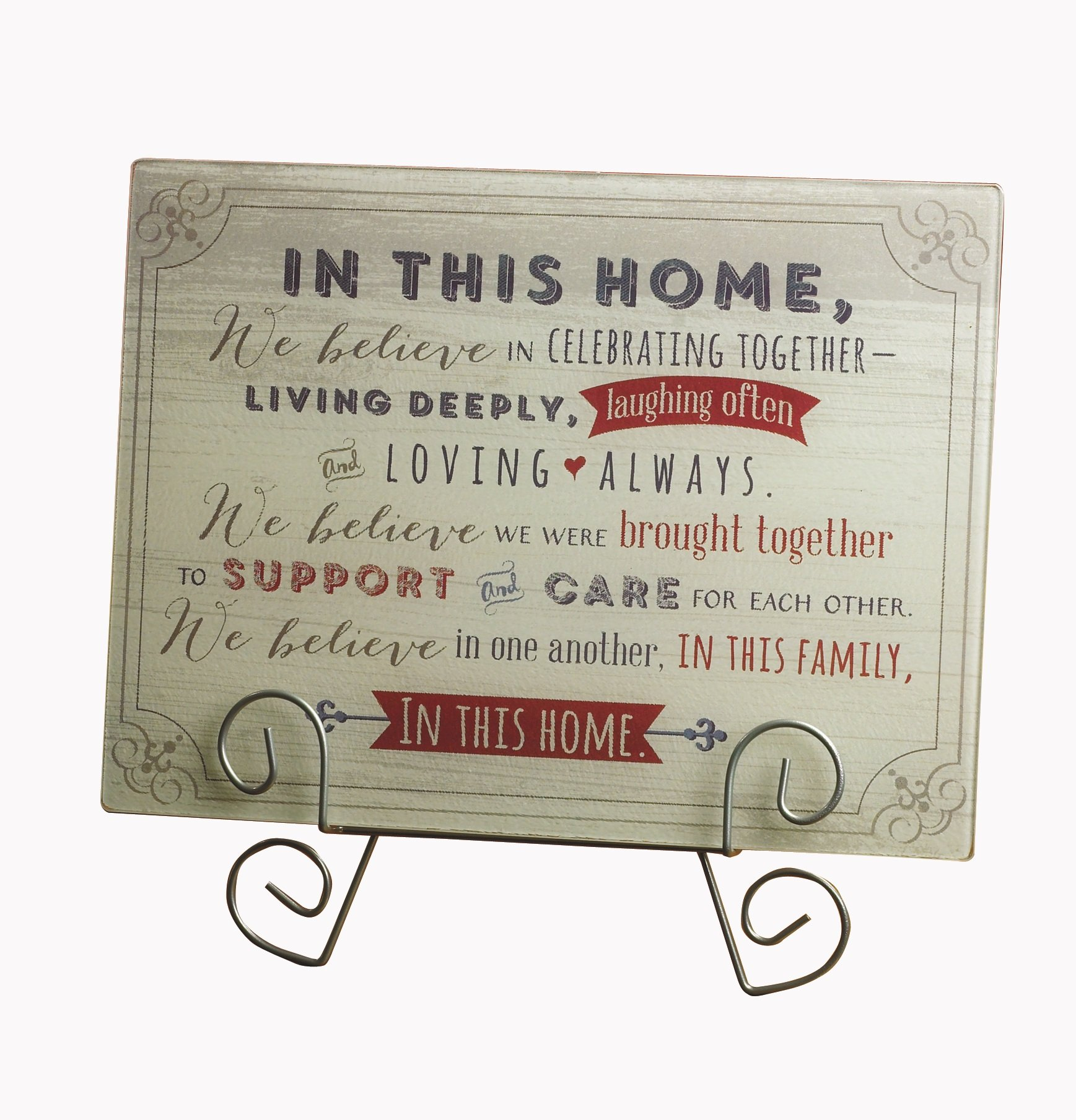 Abbey Gift in This Home Cutting Board pdf