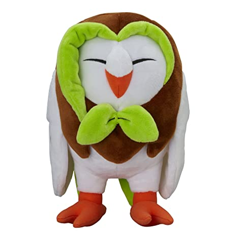 Pokemon Center original muñeca de la felpa Peluche Dartrix / Efflèche (Pokemon Sun Moon)