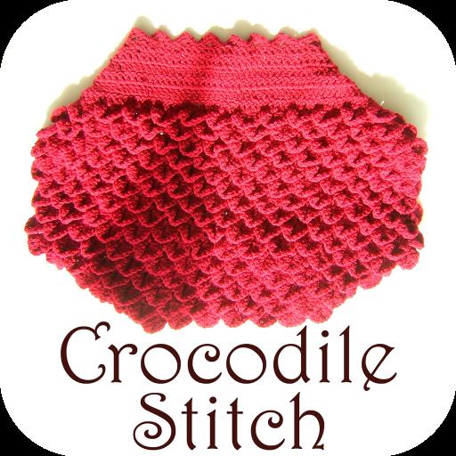 Learn Crocodile Stitch