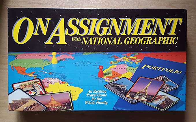 Amazon on assignment with national geographic board game toys amazon on assignment with national geographic board game toys games gumiabroncs Choice Image