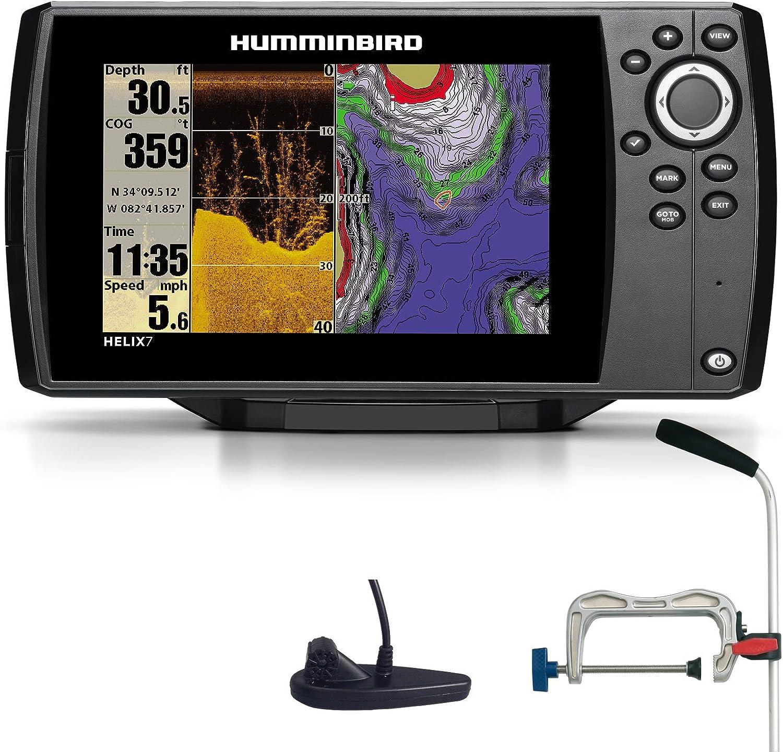 Humminbird Helix 7 DI GPS Down Imaging Echolot Seekarten plotter ...
