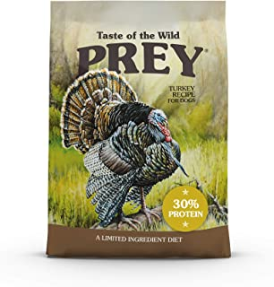 product image for Taste of the Wild PREY High Protein Limited Ingredient Premium Dry Dog Food with Antioxidants and Probiotics for All Life Stages
