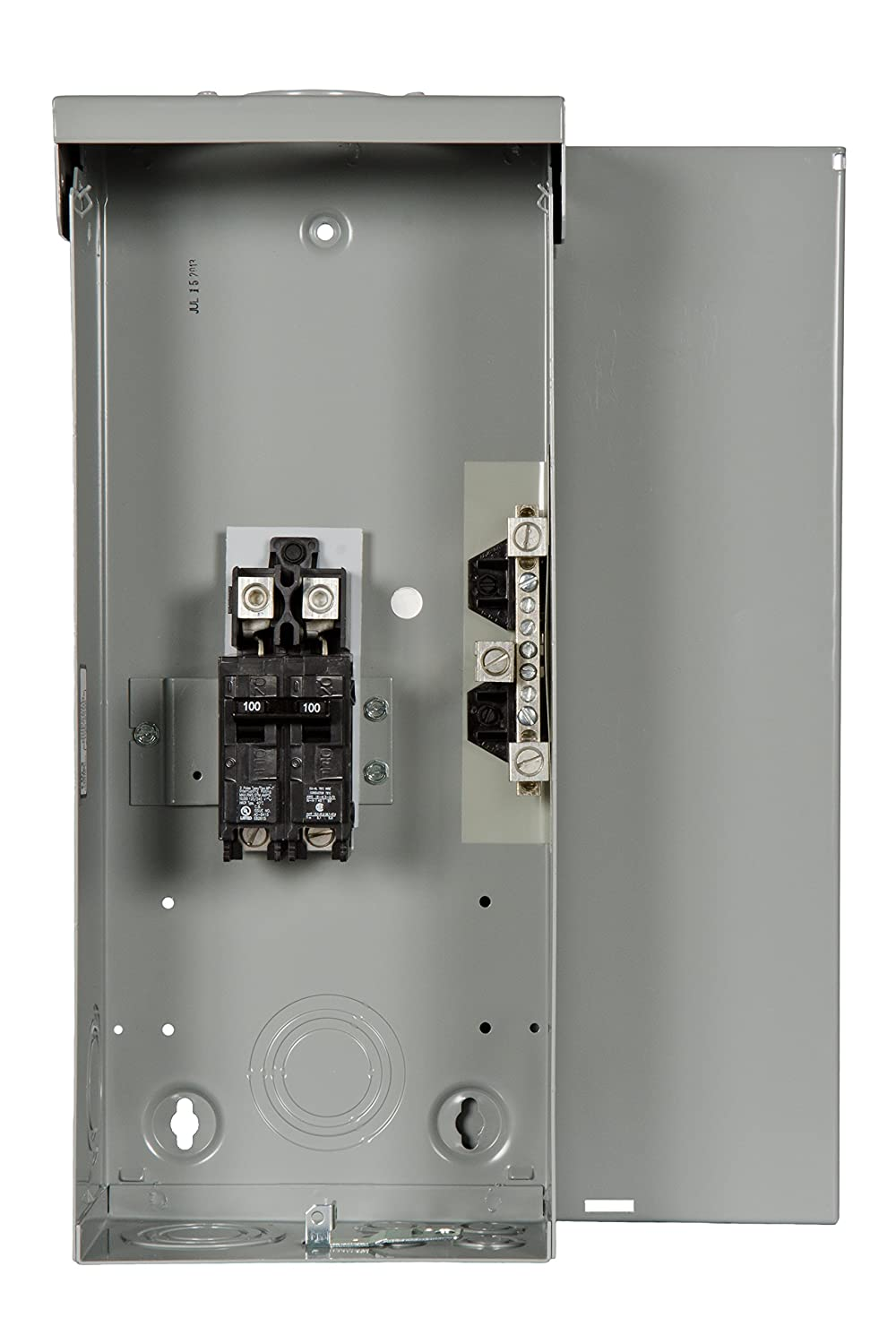 Siemens W0204ML1060U 60 Amp Outdoor Circuit Breaker Enclosure - Breaker Box  With Breakers - Amazon.com