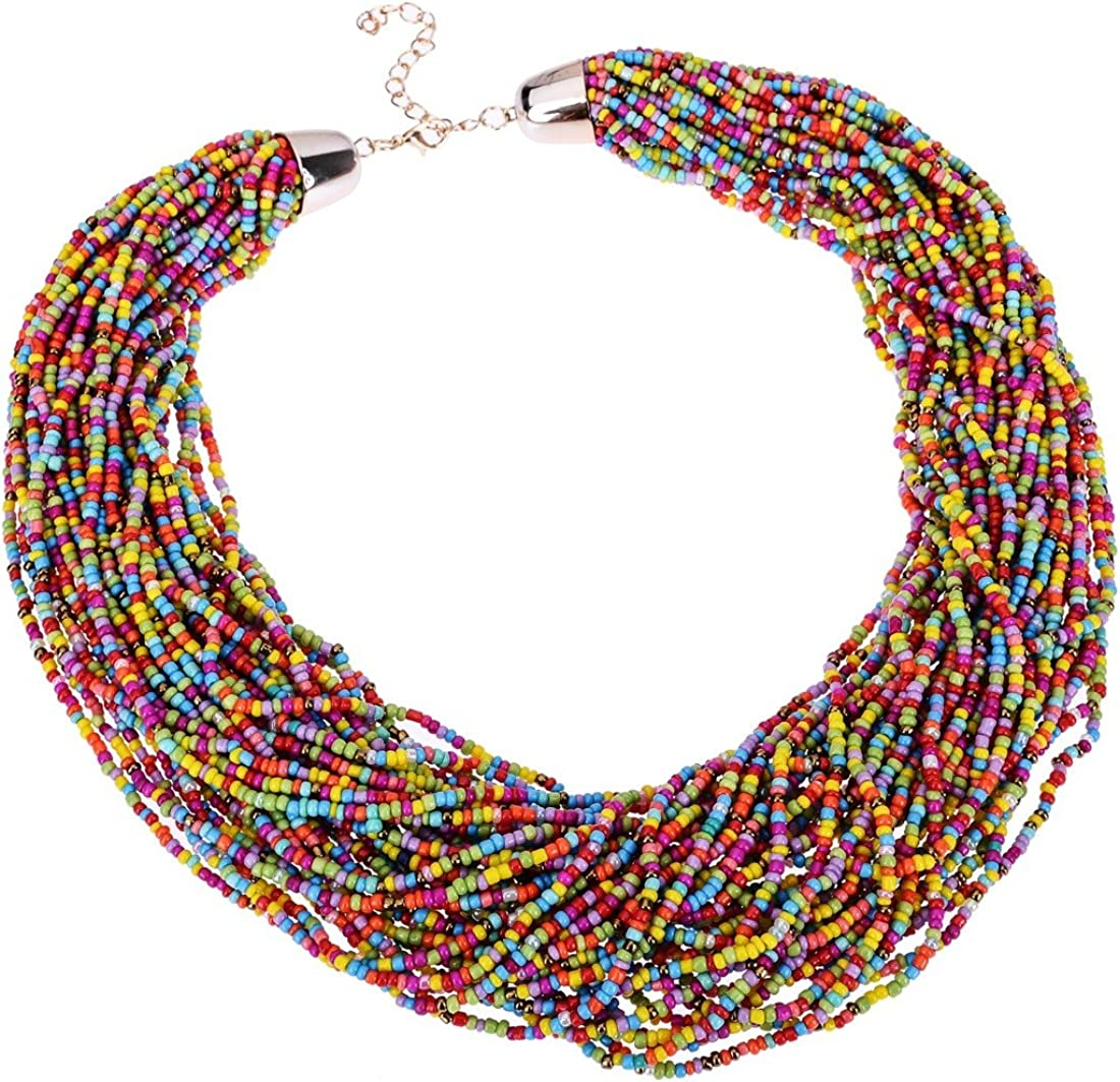 Multilayer Seed Bead Chain...