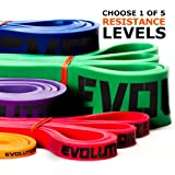 Pull Up Bands - Pull Up Assistance Strength Bands 41 inch Loop Resistance Bands - Single Unit - Mobility Bands - Stretch Bands - Premium Exercise Band for Weight Lifting, Strength, Pull Up Assist, Powerlifting