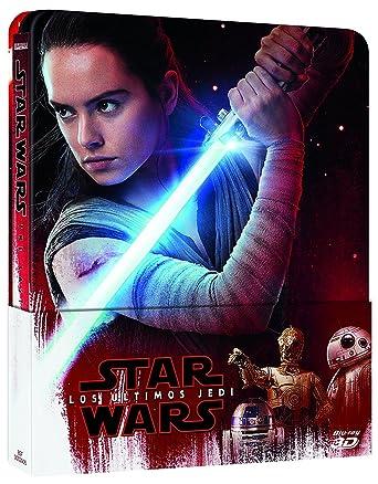 Star Wars: Los Últimos Jedi (3D Steelbook) [Blu-ray]: Amazon.es ...