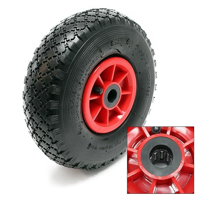 2x rueda completa carretilla 3.00-4 HT2046 neumático ...