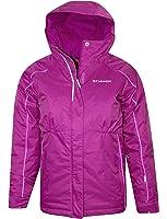 Columbia YOUTH GIRLS Frozen Creek Omni Heat Insulated Hooded Winter Jacket