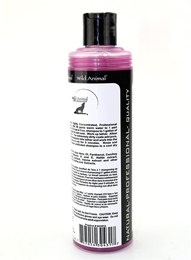Amazon.com: Wild Animal Down Under Eucalyptus 50:1 Shampoo 11.7 fl. oz.: Pet Supplies