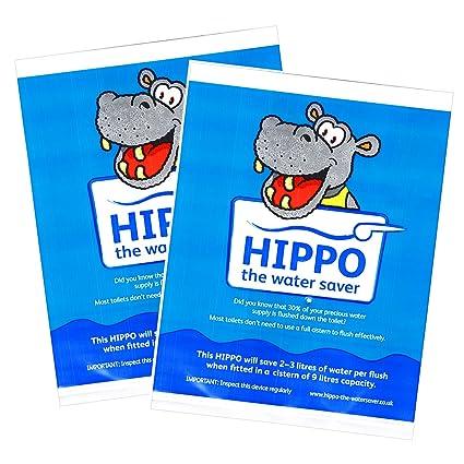 Bolsas de Ahorro de Agua Hippo - Para Cisternas de Inodoro ...