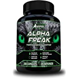 ★ Alpha Freak ★ Testosterone Booster For Men 90 Capsules ★ An Advanced Testosterone Supplement ★ Increase Muscle Mass & Size ★ Boost Stamina & Energy Levels ★All Natural Ingredients - D-Aspartic Acid, Fenugreek, Zinc, Magnesium, Vitamin D3 & Vitamin B6 ★ Optimal Test Booster Made In The UK ★ High Quality Testosterone Boosters Guaranteed