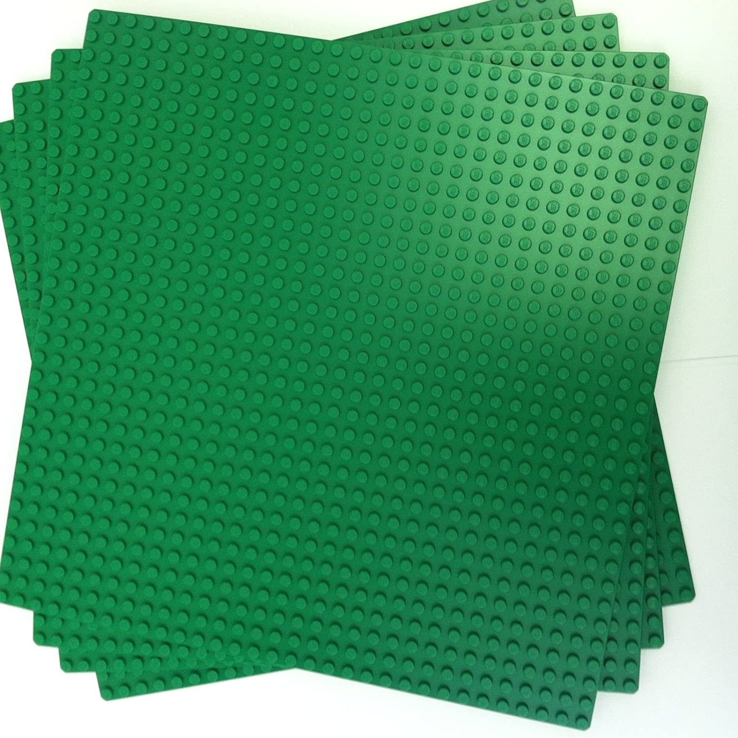 """LEGO Green Baseplate 626 (10"""" x 10"""") lot of 10"""