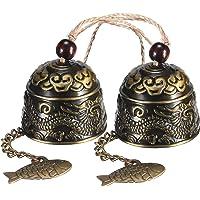 2 Piezas de Campanas Feng Shui Chinas Clásicas