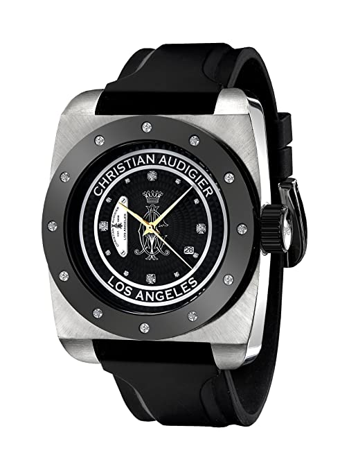 Amazon.com: Christian Audigier Unisex FOR-205 Fortress CA Divine Vine Stainless Steel Watch: Christian Audigier: Watches