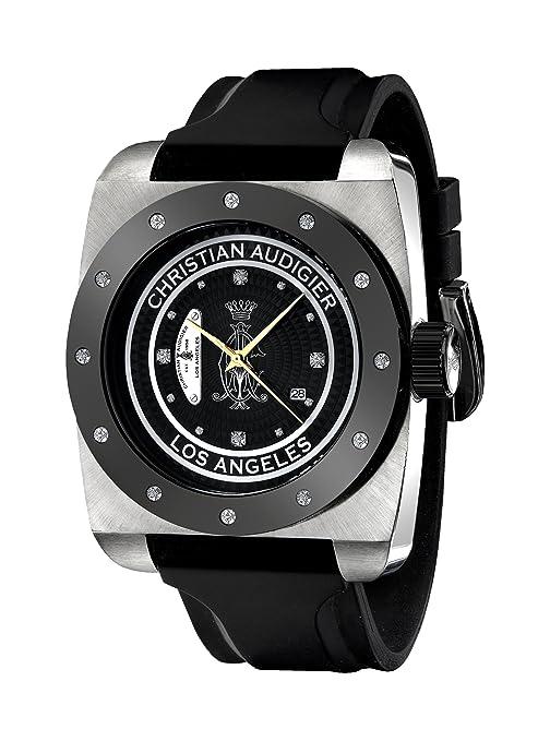 Amazon.com: Christian Audigier Unisex FOR-205 Fortress CA Divine Vine Stainless Steel Watch: Christian Audigier: Watches