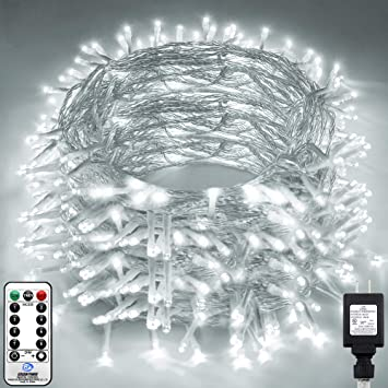 100-1000LED Outdoor Solar String Light Fairy Waterproof Plug In Xmas Tree Party