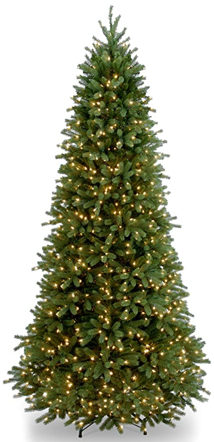 national tree 9 foot feel real jersey frasier fir slim tree with 1000 - Frasier Christmas Tree