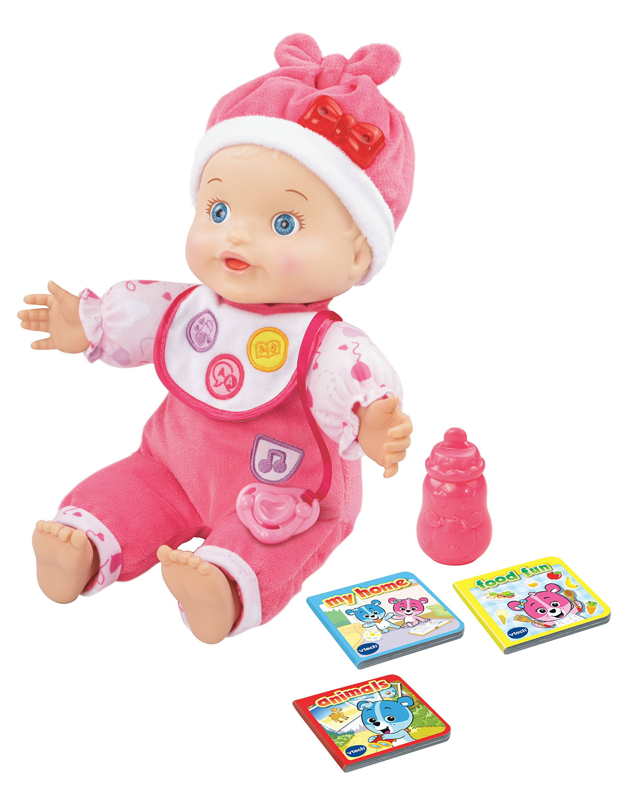 VTech Baby Amaze Learn to Talk and Read Baby Doll by VTech (Image #1)