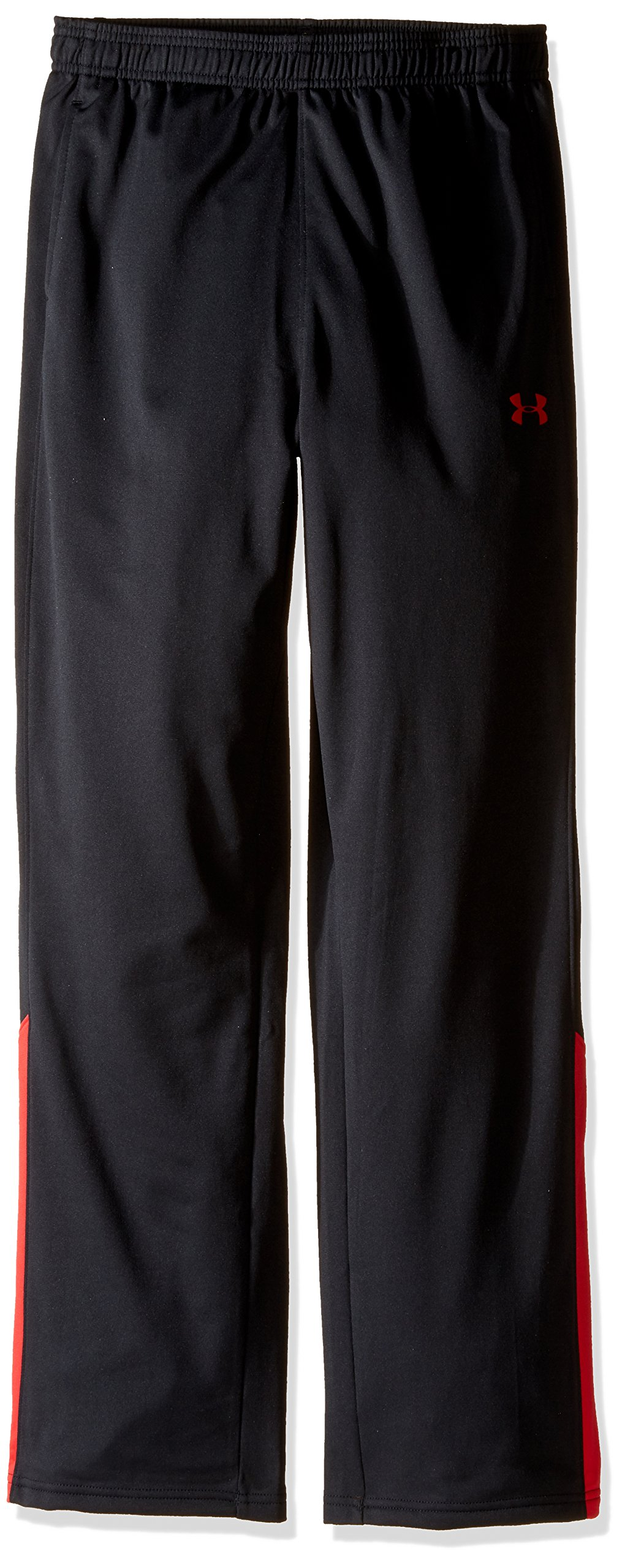 Under Armour Boys' Brawler Pants, Black/Red, Youth Large