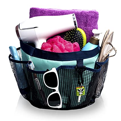 Amazon.com: Fancii Portable Mesh Shower Caddy Tote for College Dorm ...