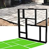 yestter Bodenform f/ür Individualit/ät Basteln Walk Maker Bodenform aus Kunststoff Garten-Pfosten-Form