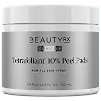 BeautyRx by Dr. Schultz Advanced 10% Glycolic Acid Peel Pads for Fine Lines, Wrinkles...