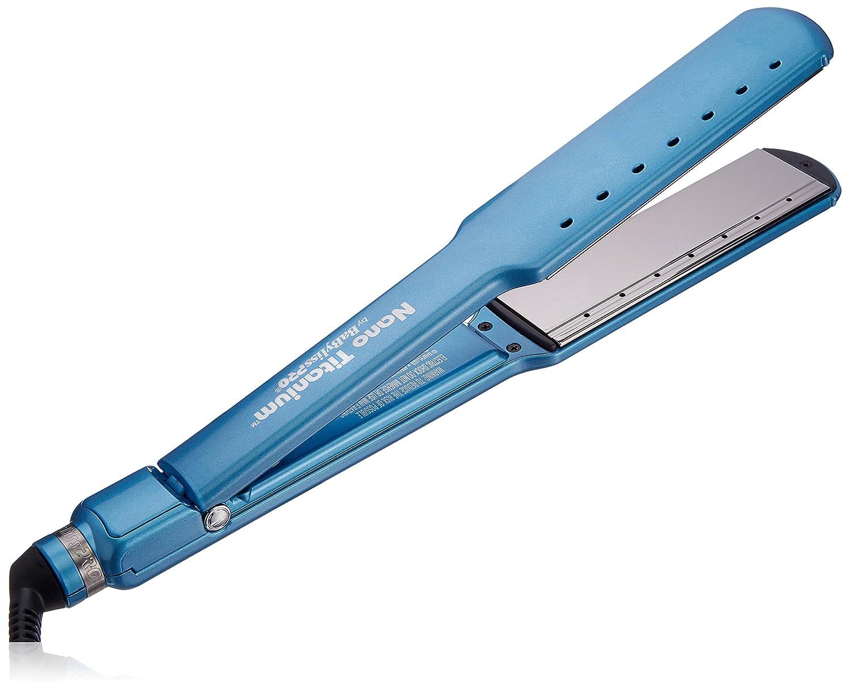 BaBylissPRO Nano Titanium-Plated Wet-to-Dry Ultra-thin Straightening Iron, 1.5 Inch