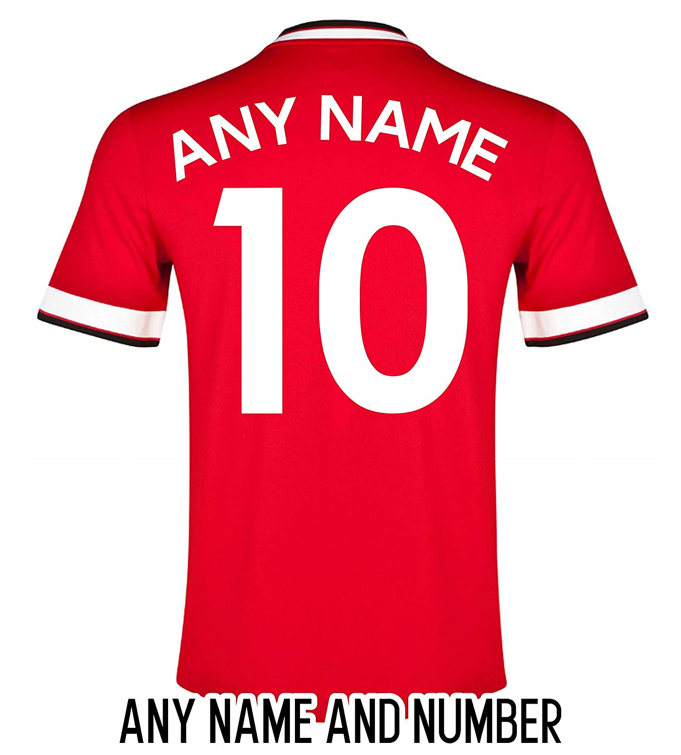 Football Shirt Name And Number Amazon Clothing