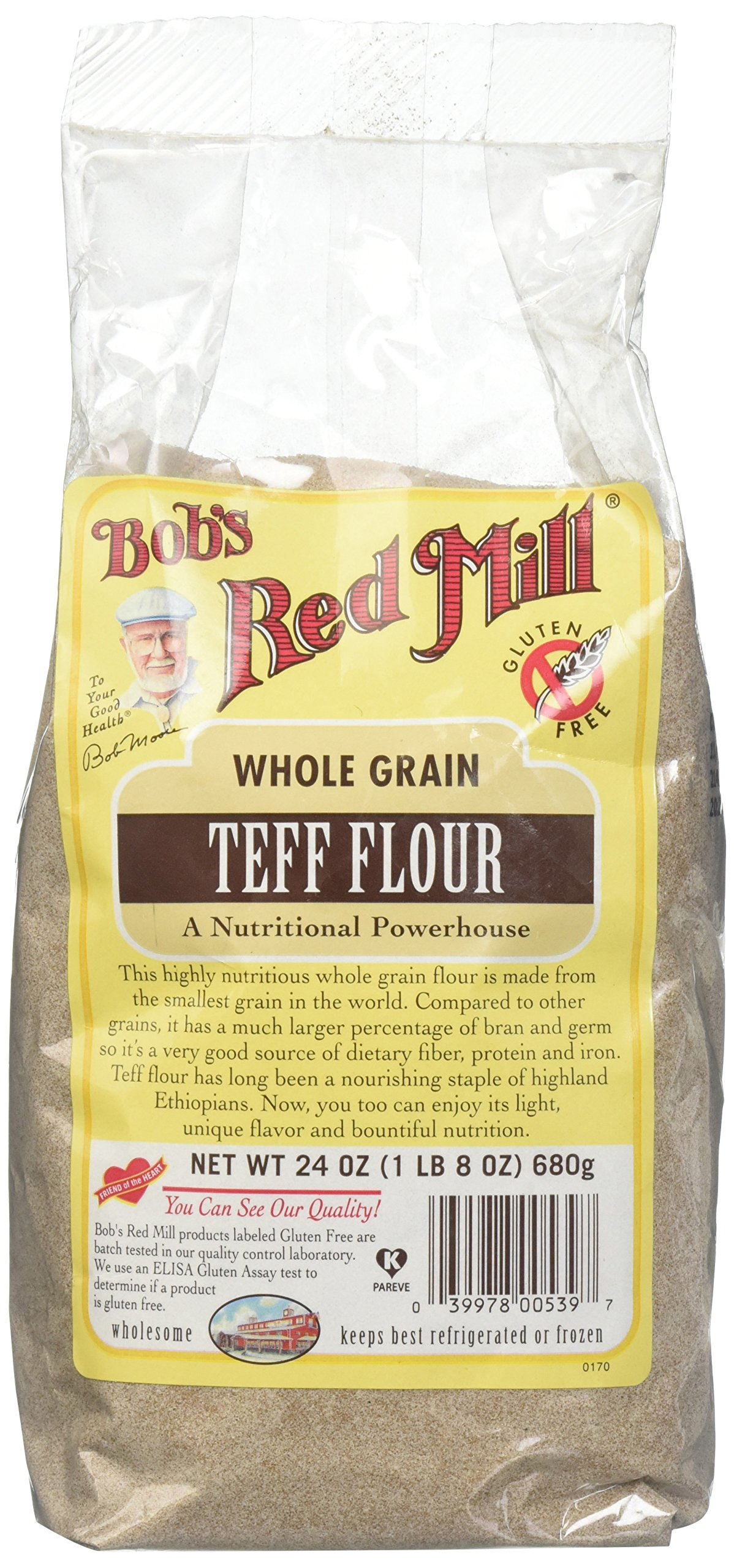 Amazon.com: Bob's Red Mill Whole Grain Teff - 24 oz