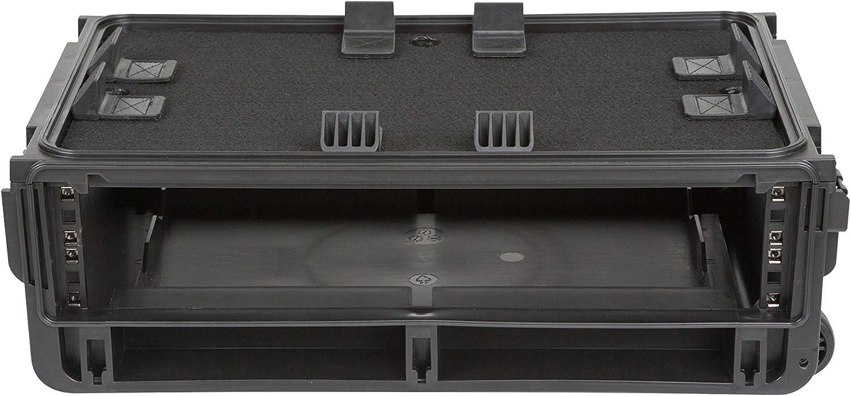 SKB 2U Studio Flyer - Maleta para armario moldeado