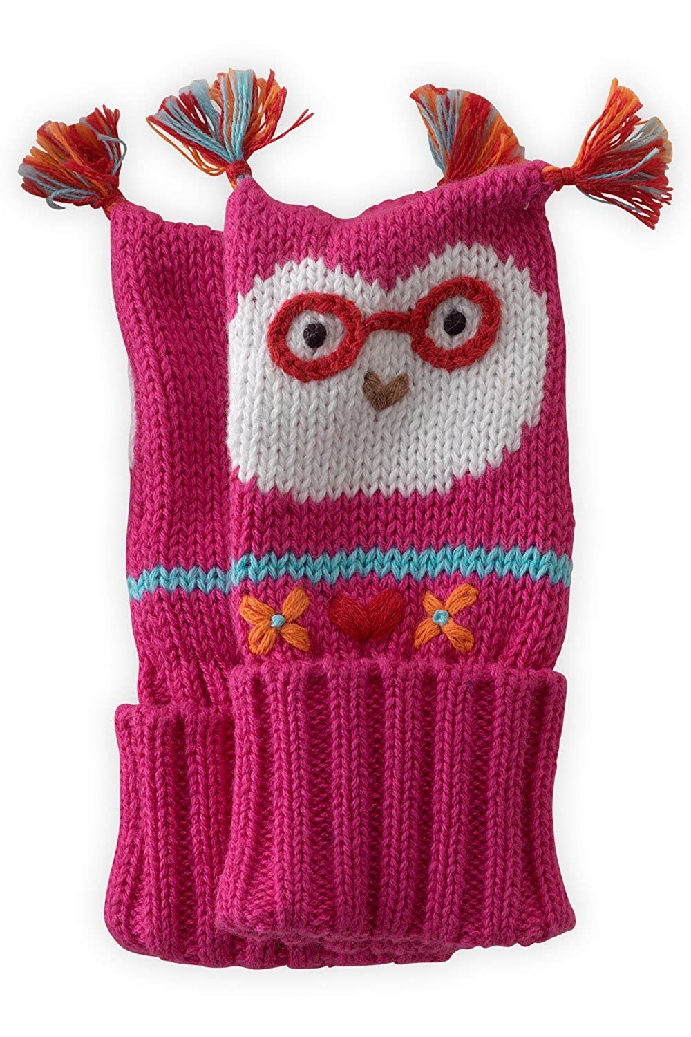 Joobles Organic Baby Mittens - Jody the Owl (0-6 Months) 03912-0013182