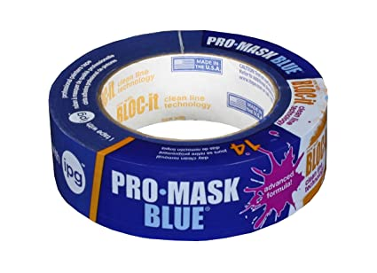 1.41-inch X 60-yard Intertape Polymer Group 9532-1.5 Promask Blue With Other Home Cleaning Supplies