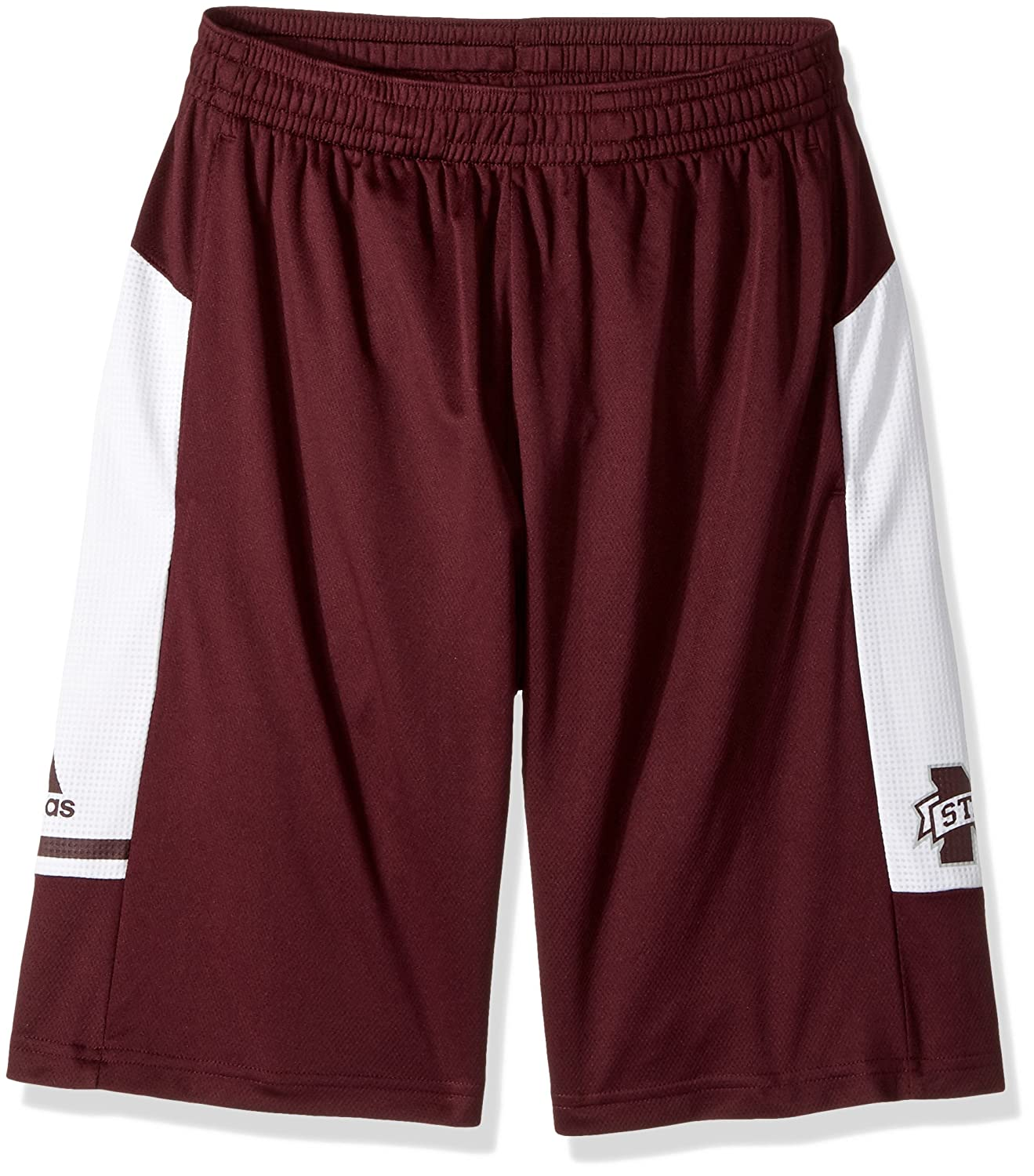 adidas Mississippi State Bulldogs NCAA Mens Climalite 2017 Sideline Player Black Shorts