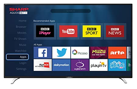 Sharp LC-49CFG6352E 49inch Full HD LED Smart TV with Freeview HD