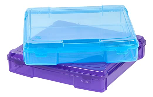 Amazon Iris 12 X 12 Portable Project Case 6 Pack Assorted