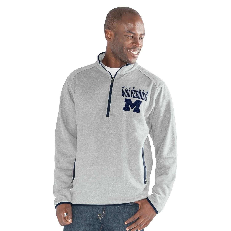 G-III Sports NCAA Mens 1 On 1 Quarter Zip Fashion Top