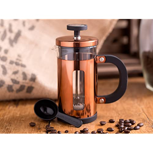 Creative Tops 1000 ml Cafetiere 8-Cup Copper Finish Coffee Maker