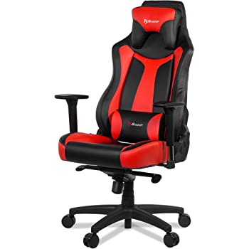 Amazon Com Arozzi Vernazza Series Super Premium Gaming Racing Style Swivel Chair Red Kitchen Amp Dining