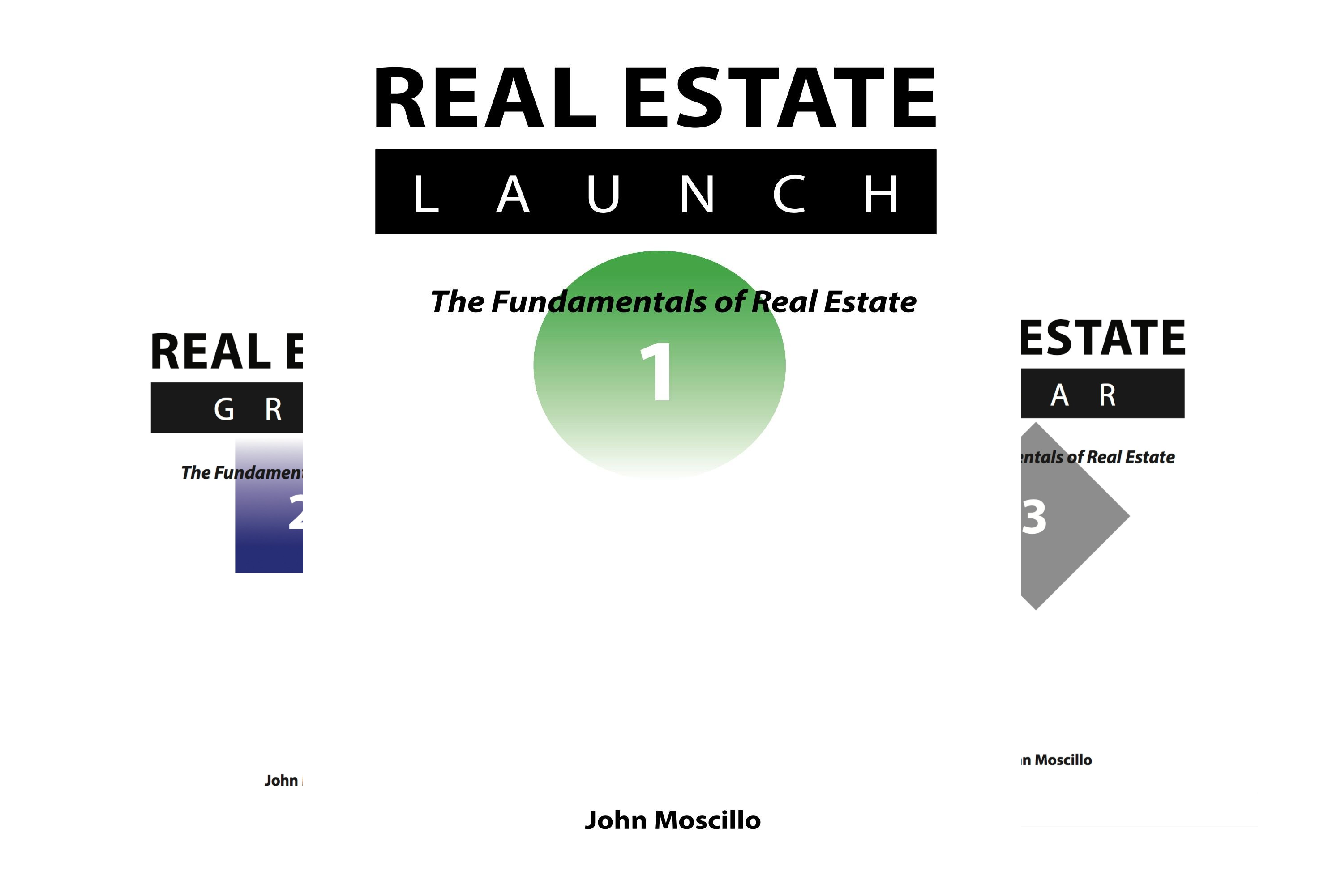 The Fundamentals of Real Estate (3 Book Series)